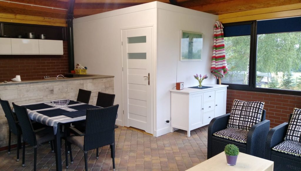 Appartement theehuis