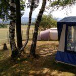 uitzicht kampeerveld
